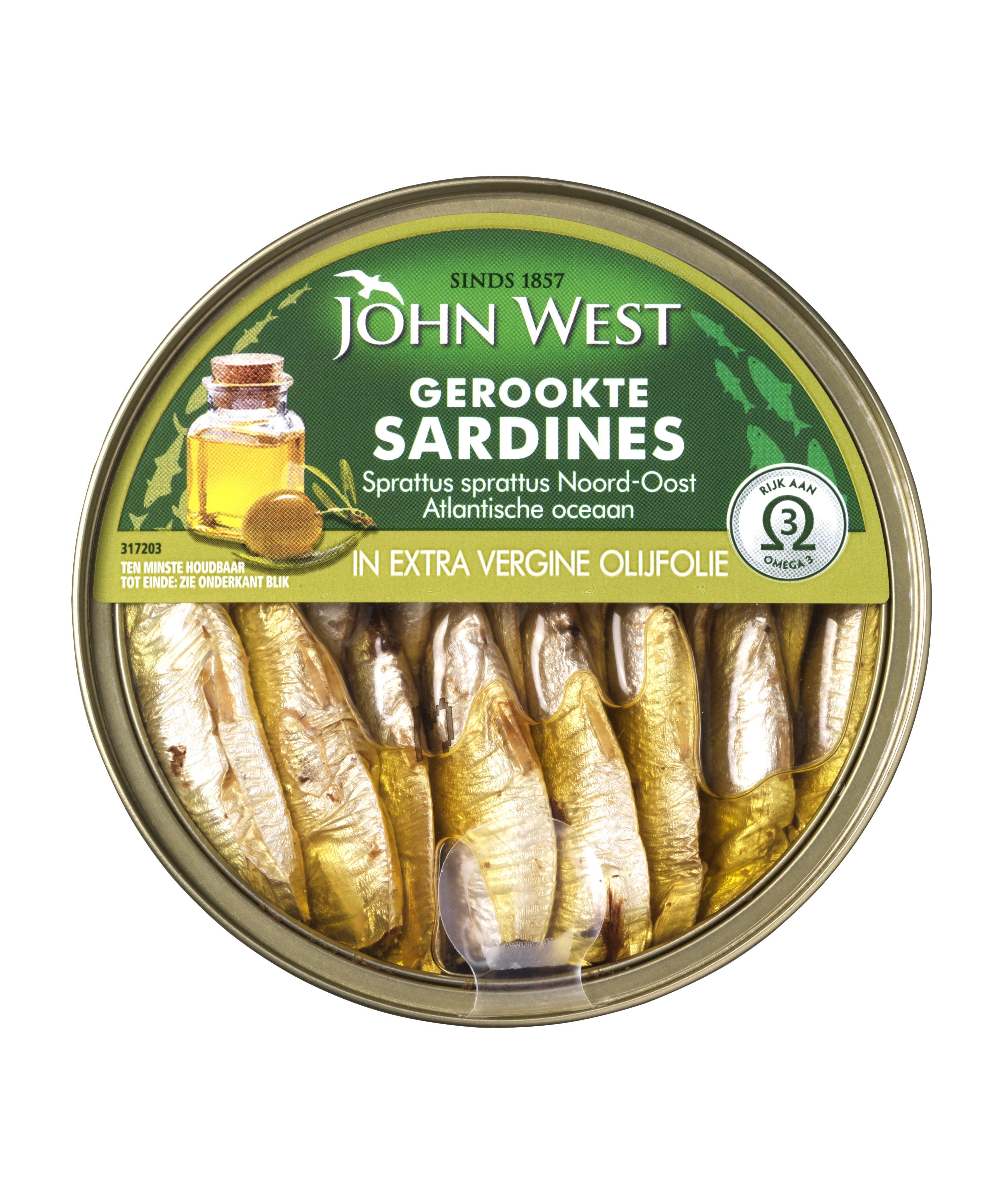 JW Gerookte sardines extra vergine olijfolie fop 1